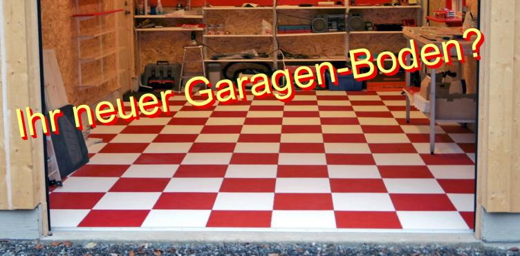 Garagen-Bodenfliesen 10 mm